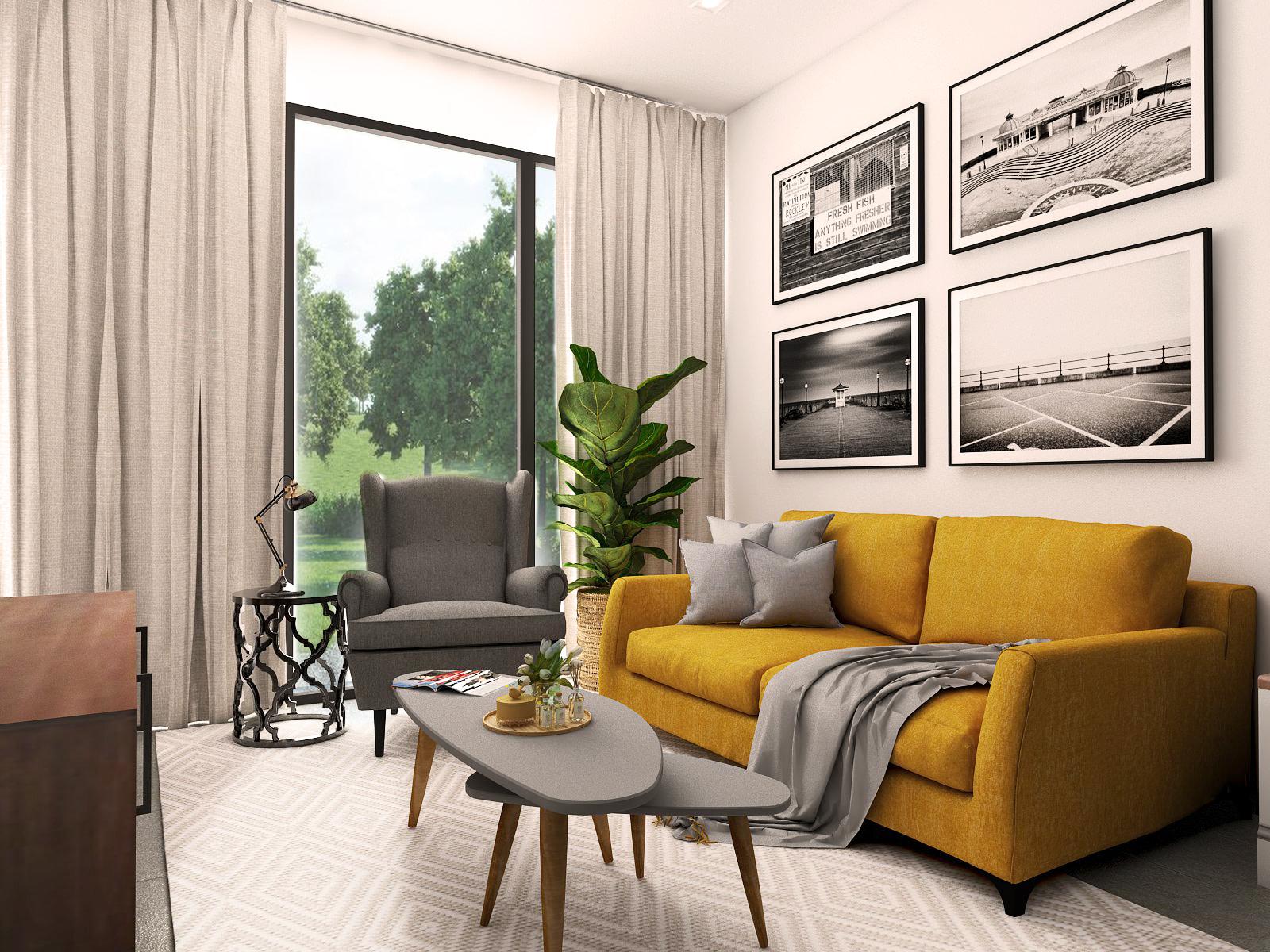 2D Drawing & 3D Drawing Interior Design | Laurea 1